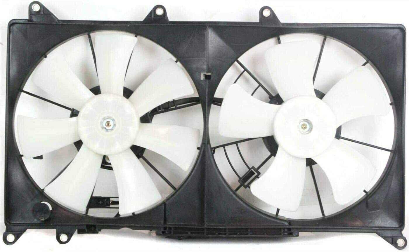 New product type U-Autoacces Radiator Cooling Fan for Base Max 68% OFF 2001-2005 IS300 Sedan