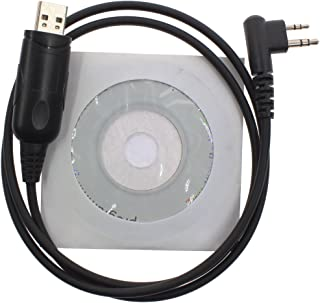 KENMAX USB Programming Cable for Two Way Radio Hytera TC-500 TC-600 TC-610 TC-620 TC-700 TC-710 TC-1600 TC-2100