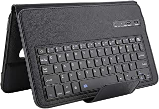 Wireless Keyboard, PU Leather Tablet Keyboard Case, 350 mAh for Tablet(Black)