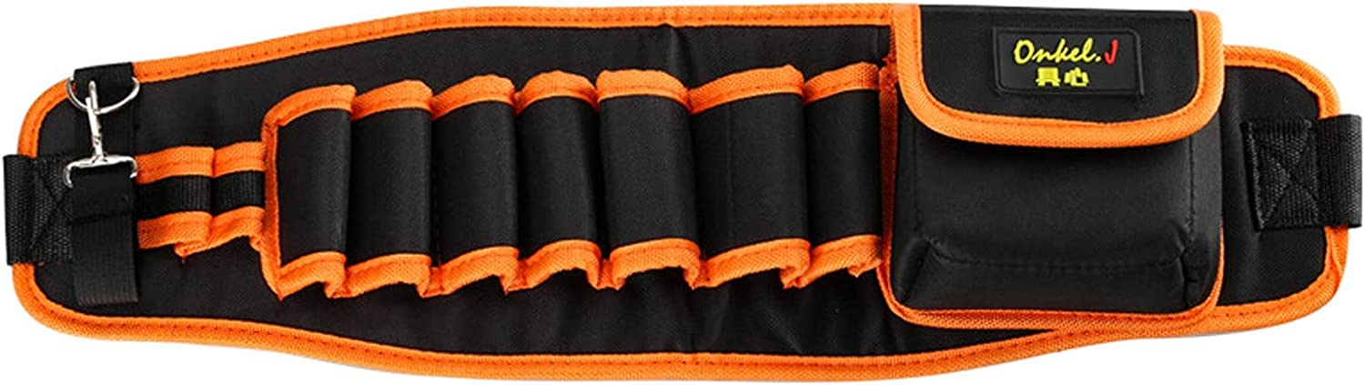 Heavy Free shipping store Duty Construction Tool Belt Pouch 9-pocket