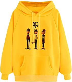 AJR-Art-Merch Men's Pullover Hoodie Men Fleece Hooded Sweatshirt Long Sleeve Hoodies