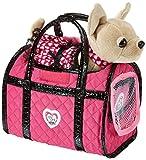 Spielzeughund mit Tasche