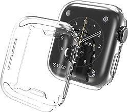 GMUJIAO [2 Pack] Etui na Apple Watch Series 7 45mm,Ochronna HD Odporna na Zarysowania Obudowa Ochronna,Etui Ochronne Miękk...