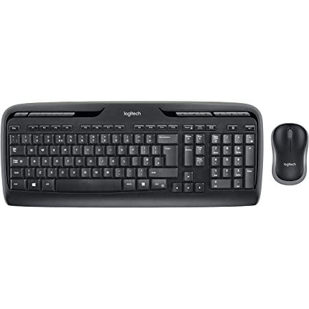 Logitech Mk330 Kabelloses Tastatur Maus Set 2 4 Ghz Computer Zubehör