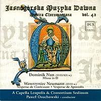Musica Claromontana, Vol. 42