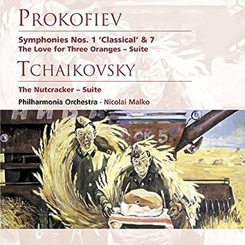 Prokofiev: Symphonies Nos. 1 & 7 etc