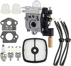 Hayskill RB-K84 Carburetor Carb w Air Filter Fuel Tune up Kit for Echo PE265 PPT265 PAS265 SHC265 HCA265 SRM-265 SRM-265S SRM-265T SRM265U PE265S Trimmer Weedeater