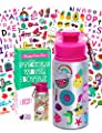 Purple Ladybug Decorate Your Own Water Bottle for Girls Craft Kit with Tons of Fun On-Trend Stickers - BPA Free, Kids Water Bottle - Great Girl Gift Idea, Fun Creative DIY Kids Arts & Crafts Activity from Purple Ladybug Novelty