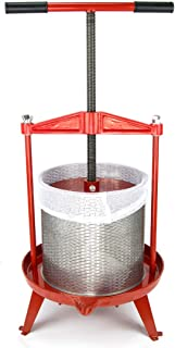 3.69 Gallon Heavy-duty Cross-beam Stainless Steel Fruit and Wine Press