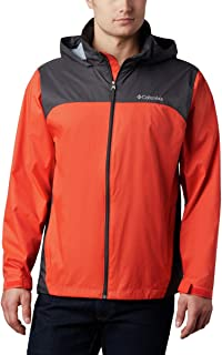 Men's Glennaker Lake Front-Zip Rain Jacket with Hideaway...