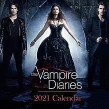 """The Vampire Diaries: 2021 Wall Calendar - Mini Calendar, 7""""x7"""", 12 Months"""