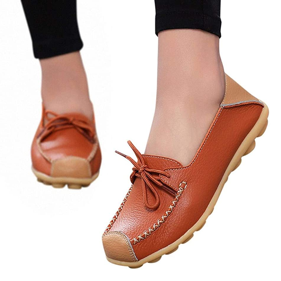 Women Casual Peas Shoe,Todaies Women Bowknot Flat Breathable Soft Bottom Wild Leisure Peas Boat Shoes