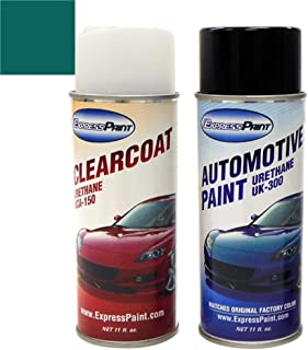 ExpressPaint Aerosol - Automotive Touch-up Paint for Ford All - Cayman Metallic Clearcoat DA/M6487 - Basic Package