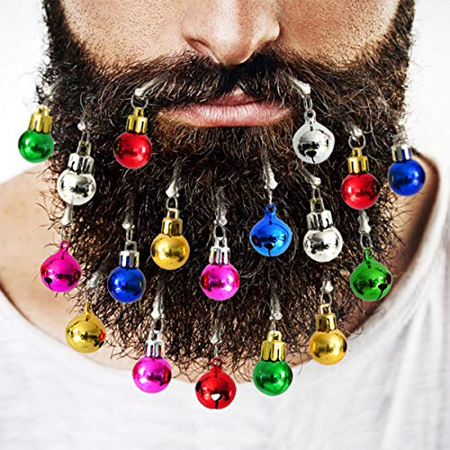 Abkshine 18pcs Beard Ornaments