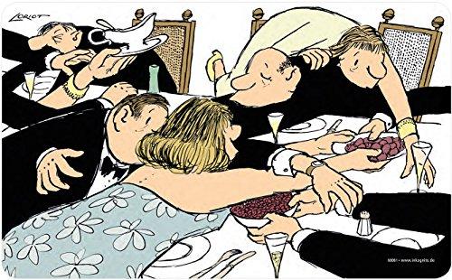 Loriot Frühstücksbrettchen 23 x 14 cm • 68061 ''Keine Hemmungen'' • Weihnachtliches • Dies & Das • Küche & Frühstück • Schneidebrettchen