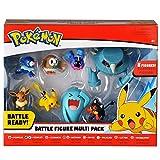 Pack de 8 figurines Pokémon 6 figurines 5 cm Et 2 figurines 8 cm