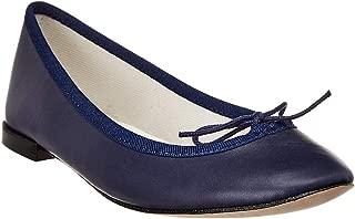 Repetto Cendrillon Leather Ballerina Flat, 37, Blue