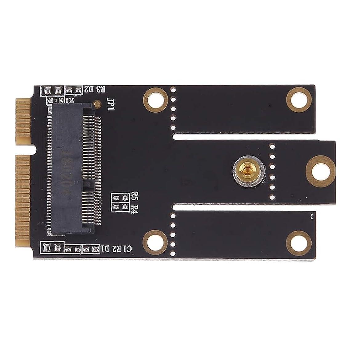 松の木虐殺読み書きのできない携帯電話の交換部品 Intel 9260 8265 7260 AC NGFF Wifi Bluetoothワイヤレスカード用ミニPCI-E PCI Express変換アダプタへのM.2 NGFFキーA