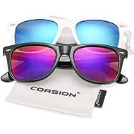 COASION Classic Polarized Sunglasses for Men Women Retro UV400 Brand Designer Sun Glasses