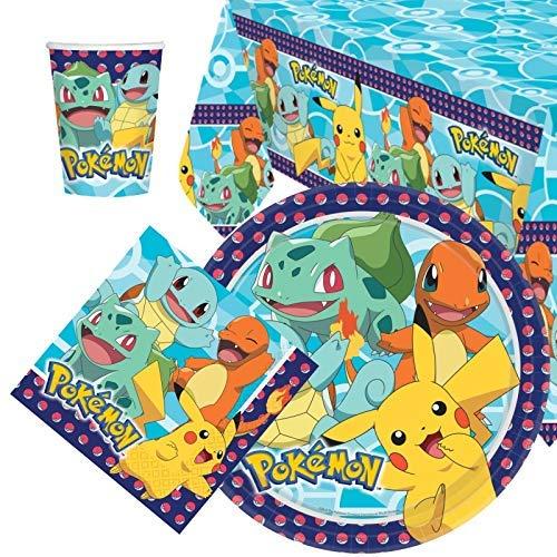 Party Bags 2 Go Pokemon Pacco Articoli per La Tavola per Festa per 8