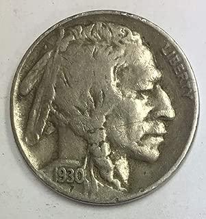 1930 f buffalo nickel