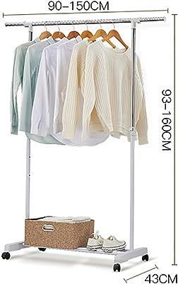 Amazon.com: AIDELAI Coat Rack Coat Racks with Casters Metal ...