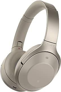 ソニー SONY ワイヤレスノイズキャンセリングヘッドホン MDR-1000X : Bluetooth/ハイレゾ対応 マイク付き グレーベージュ MDR-1000X C