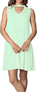 Velucci Swing Dress for Women - Womens Tunic Sleeveless Tank Summer Dresses