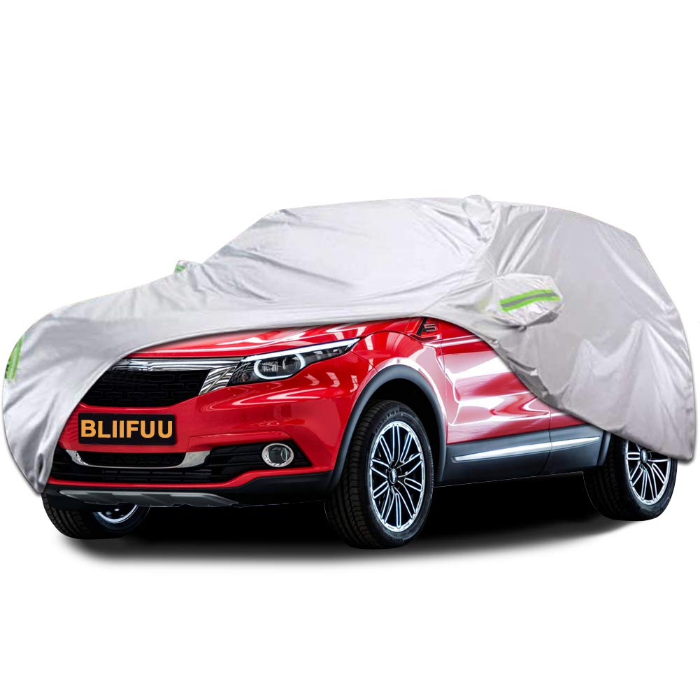 100/% Waterproof Medium Full Car Cover Extra Breathable UV Protection Outdoor New