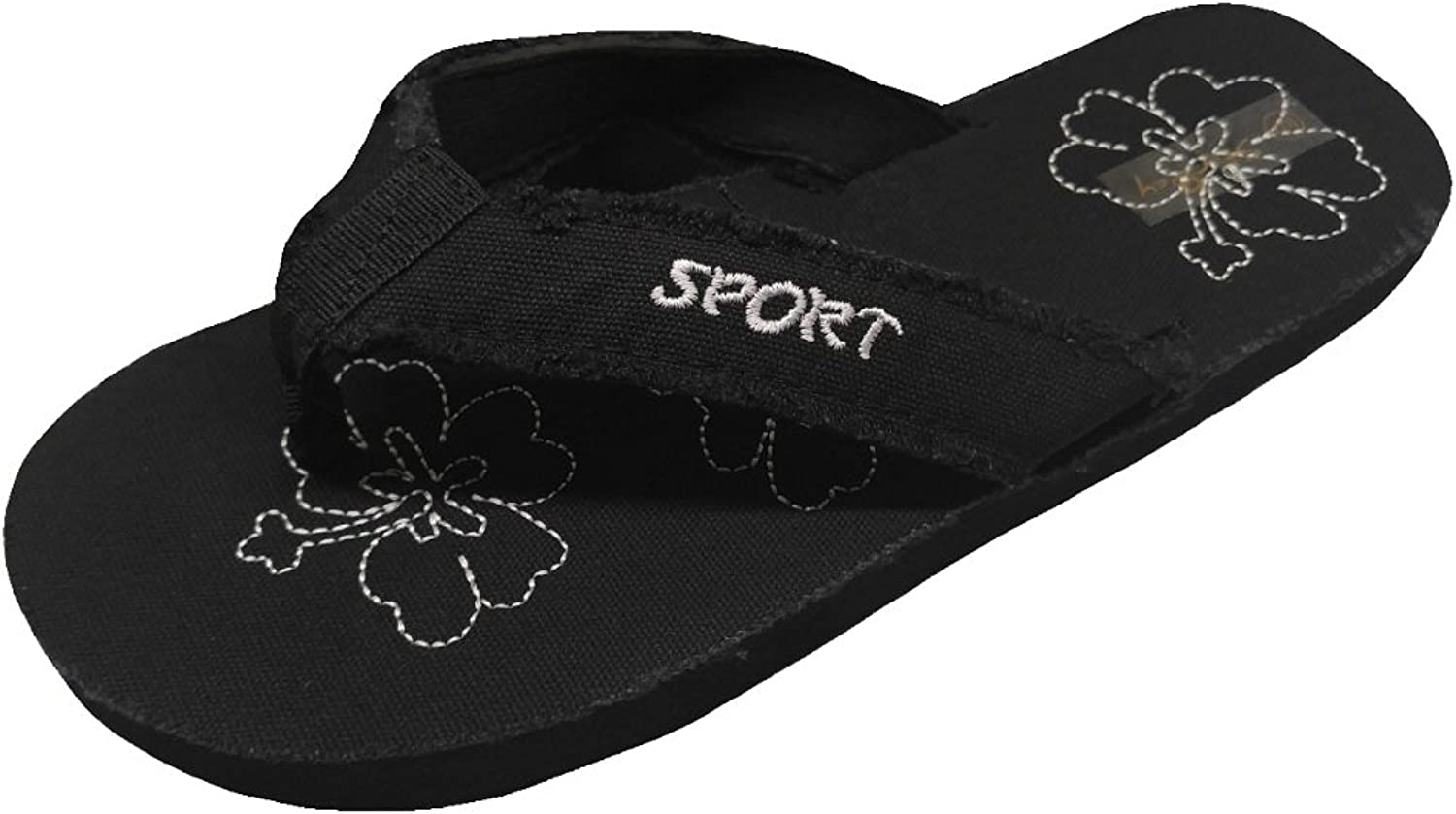 Starbay Women's Lightweight Canvas Thong Flip Flops Great for Summer Beach Casual Everyday