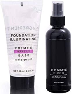 KAIASHA Most Beautiful Trending Fixer combo with Primer Foundation Luxury Primer - 150 ml (Transparent)