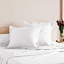 Mille 1000 Thread Count 100% Cotton European Pillowcases Twin Pack
