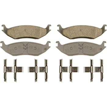 Wagner QC967A Ceramic Disc Brake Pad Set