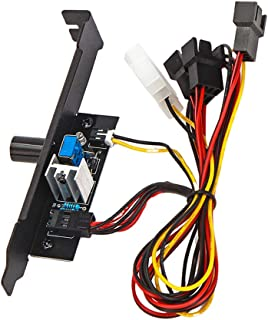 KESOTO 3 Canales De Ventilador del Controlador De Temperatura del Regulador De Velocidad del Kit De Enfriamiento para Ventiladores De PC