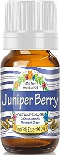 Pure Gold Juniper Berry Essential Oil, 100% Natural & Undiluted, 10ml