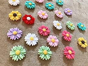 Seven YJ. 24Pcs Decorative Push pins,Thumb Tack Decorative for CorkBoard, Office Organization,Photo Wall (Assorted Color)