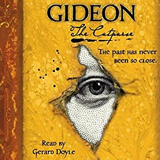 Gideon the Cutpurse audiobook cover art