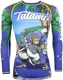 Tatami Rash Guard Omoplatapus BJJ Jiu Jitsu No-Gi MMA Compression Top