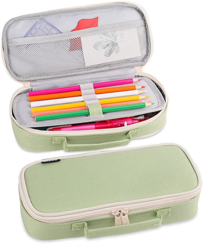 iSuperb Portable Pencil Case Double Layer S Boston Mall Low price Organizer Stationery