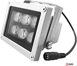 JC Infrared Illuminator 6Leds High Power Wide Angle IR Illuminator for 850nm IP Camera CCTV Security Camera