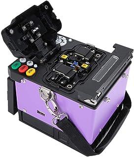 4,3 Pulgadas LCD Empalmador Automático Fusión Fibra óptica, Empalmador Fusión por Fusión Fibra Automática X-500 Máquina Empalme Soldadura óptica(NOSOTROS)
