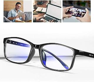 ProudDemon gafas anti luz azul Anti Tensi/ón de Ojos Lentes Transparentes para Hombres y Mujeres