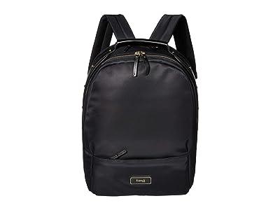 Lipault Paris Large Backpack (Jet Black) Backpack Bags