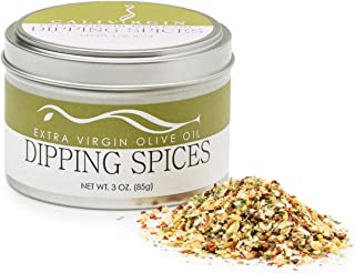 Calivirgin Olive Oil Dipping Spices - Restaurant Style Gourmet Spice Mix - Premium Dip Seasoning Spice Blend - Basil, Sun-dried Tomatoes, Garlic, Parsley & Oregano - Bread Dipping Seasoning Mix - 85g