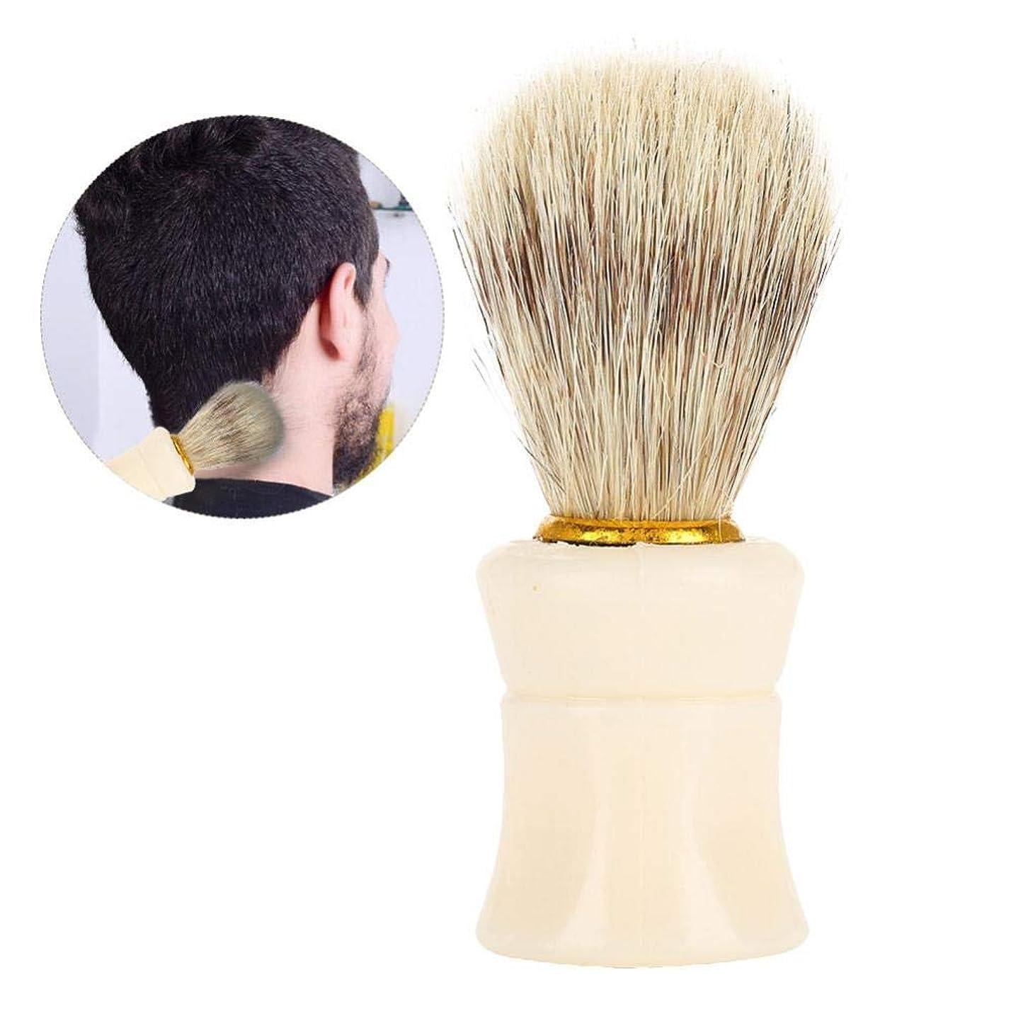 変なシュート地元Semme理髪師クリーニングヘアブラシヘアスイープブラシ、プロフェッショナルネックダスターブラシ理髪師理髪クリーニングヘアブラシ