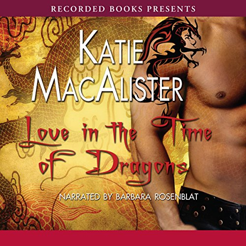 Love in the Time of Dragons audiobook cover art