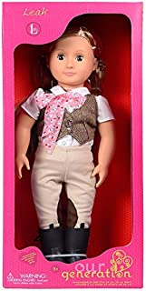 """Our Generation Dolls Leah 18"""" Horse Riding Doll"""
