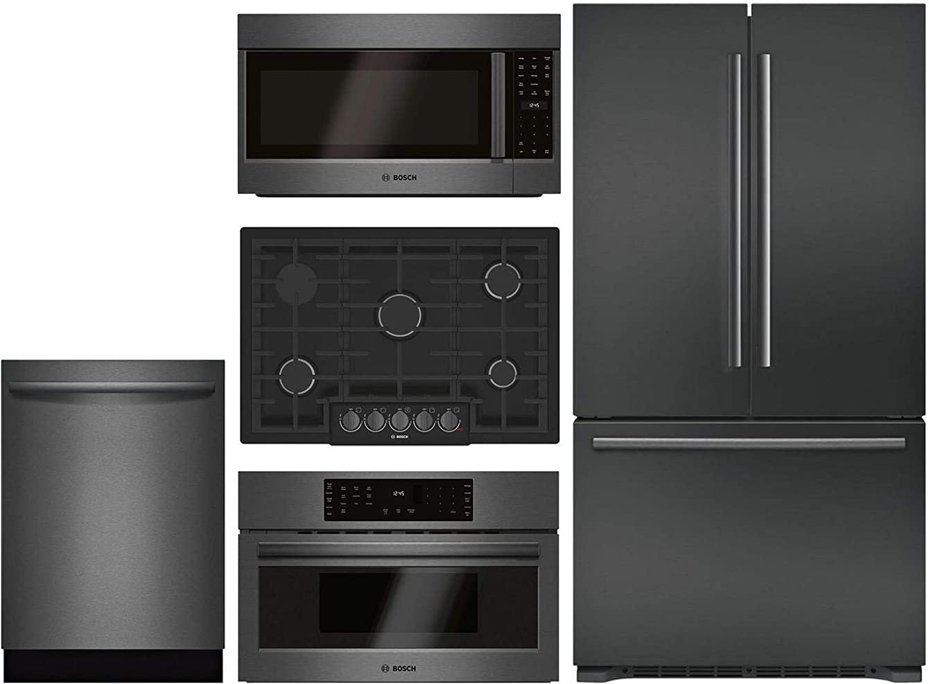 Bosch 5 Piece Kitchen Package with B21CT80SNB 36