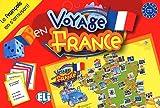 Voyage en France (Boite jeu): Le français en s'amusant niveau A2 - B1 (Giochi didattici)