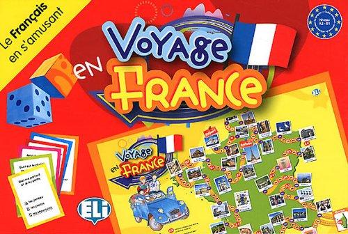 Voyage en France (Boite jeu) (Giochi didattici)